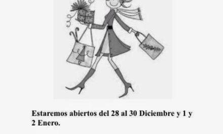 Feria navideña ( del 28 al 30 de diciembre y 1 y 2 de enero)