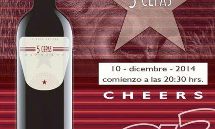Cata de vino en Cheers (miércoles, 10)