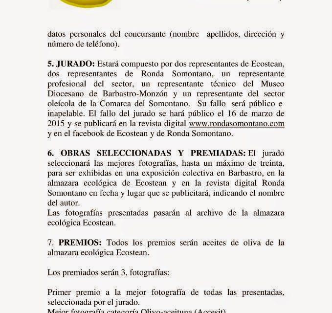 Concurso Fot-Oleo (hasta 28 de febrero)