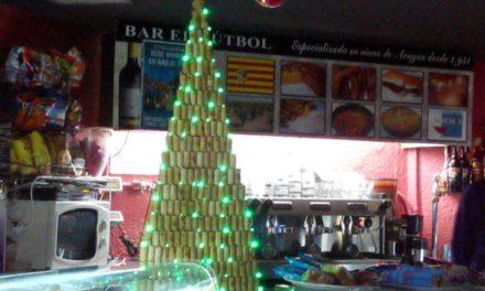 Fiesta de Navidad en el bar El Fútbol (sábado, 20)