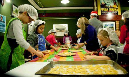 Taller de cocina infantil, Elaboración de pasta ecológica (sábado, 20)