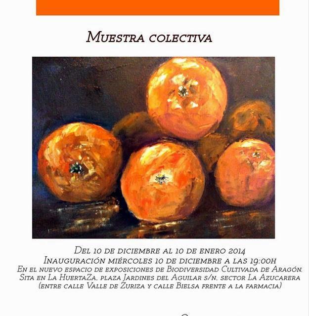 Exposición 'Sembrando Arte' en La Huertaza (hasta el 10 de enero)