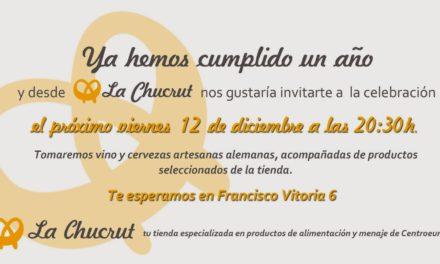 Degustación de productos alemanes, aniversario de La Chucrut (viernes, 12)