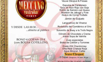 Nochevieja en el Café Meccano (miércoles, 31)