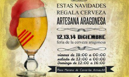 Feria de cerveza artesana (del 12 al 14)