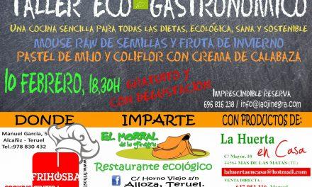 Taller de cocina vegetariana (jueves, 29 y martes, 10 de febrero)