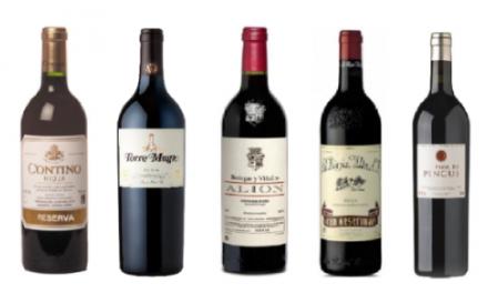 Cata de vinos (jueves, 22)