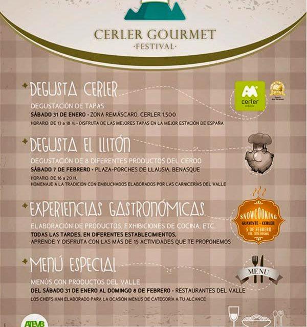 Cerler gourmet festival (del 31 de enero al 8 de febrero)