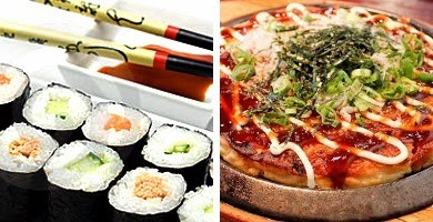 Taller de sushi y okonomiyaki (sábado, 31)