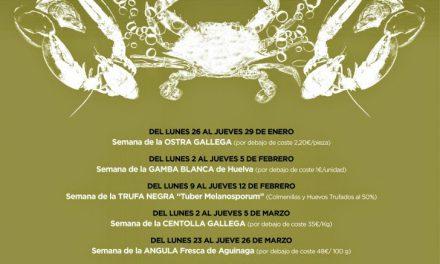 Gourmet Days en Tragantúa y Cabezudos con gamba de Huelva (del 2 al 5)