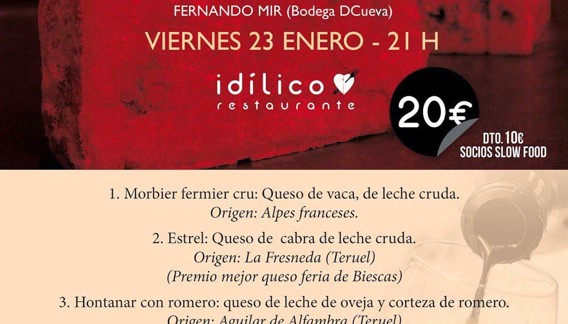 Vino y quesos (viernes, 23)