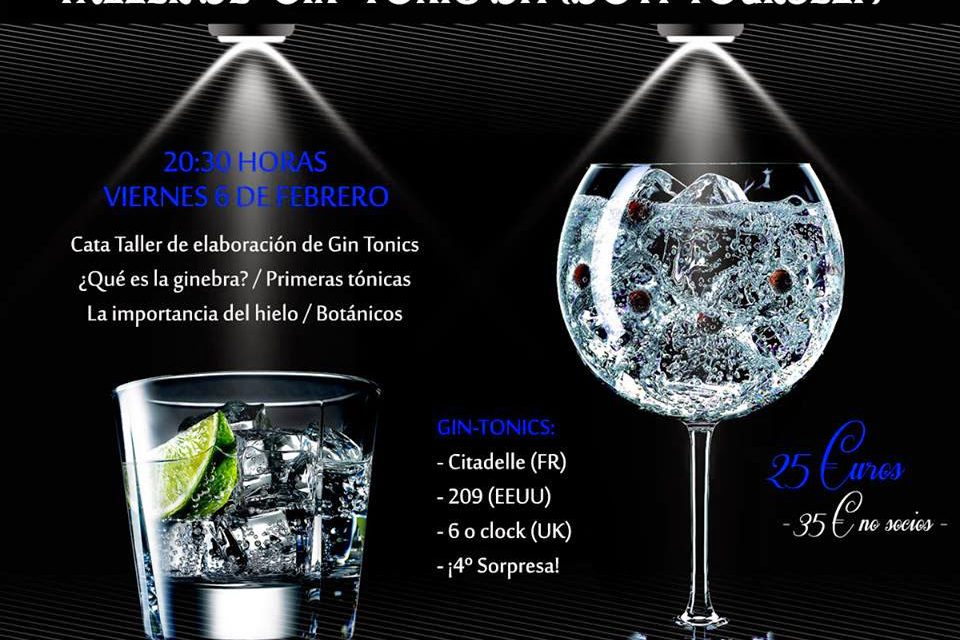 Cata-taller de gin-tonics (viernes, 6)