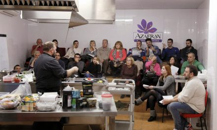 Curso de Iniciación a la Cocina en la Escuela Azafrán (sábados, hasta final de abril)
