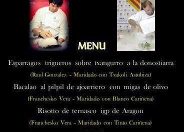 Franchesko Vera cocina en Ermua (jueves, 15)
