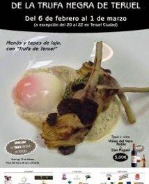 III jornadas gastronómicas de la trufa (del 6 de febrero al 1 de marzo)