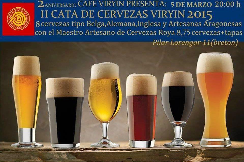 Cata de cervezas (jueves, 5)