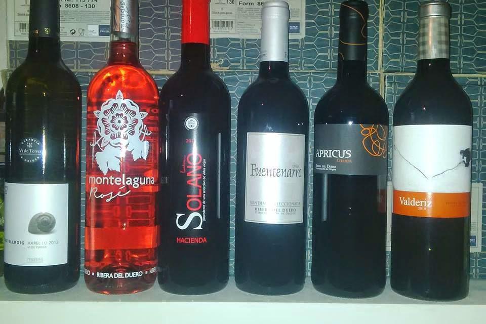 Cata de vinos (viernes, 20)