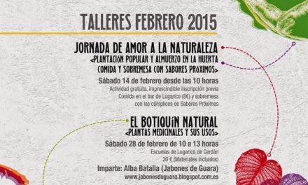 Plantación de árboles, arbustos y aromáticas (sábado, 14)