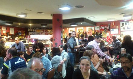 Cata de uvas autóctonas en el bar El Fútbol (miércoles, 4)