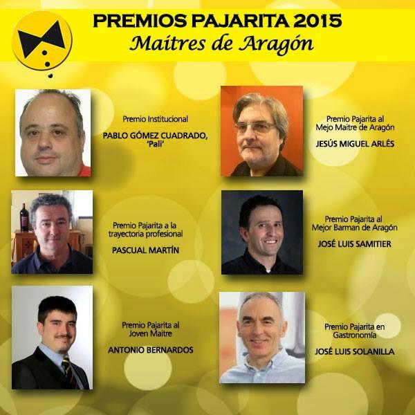 Cena de hermandad y premios Pajarita 2015 en Idílico restaurante (domingo, 22)