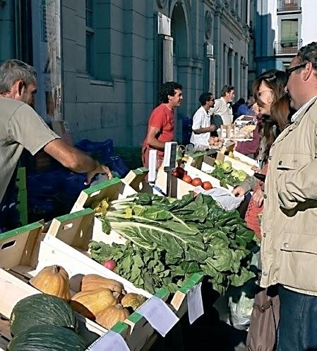 Mercado agroecológico (sábados de 2015)