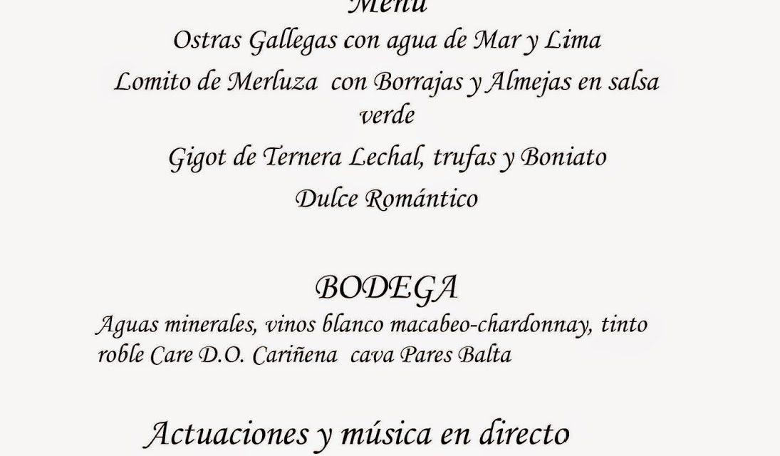 Cena de san Valentín y música en Gayarre (sábado, 14)
