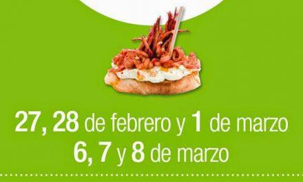 Certamen de tapas Comarca del Jiloca (días 27 y 28 de febrero, 1, 6, 7 y 8 de marzo)