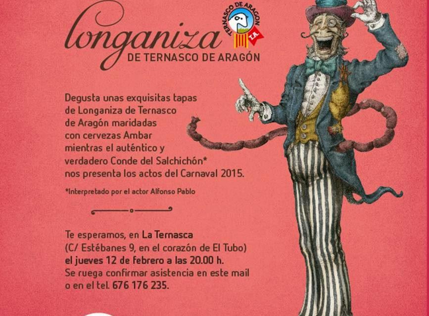 Cata longanizada en La Ternasca (jueves, 12)