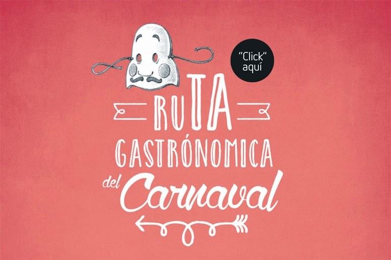 Ruta gastronómica del carnaval (del 12 al 14)