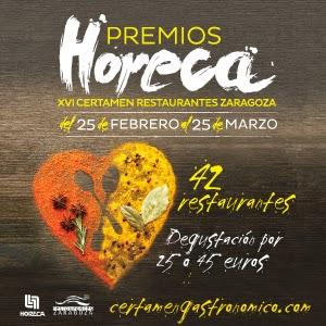 XVI Certamen de Restaurantes-Premios Horeca (del 25 de febrero al 25 de marzo)