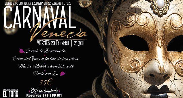 Cena de carnaval (viernes, 20)