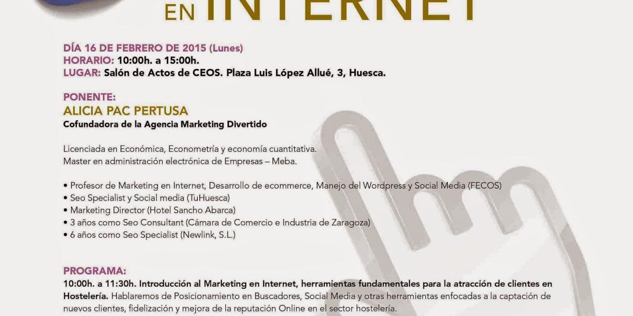 Taller de marketing en internet (lunes, 16)
