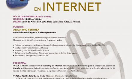 Taller de marketing en internet (lunes, 16)