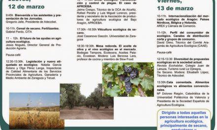 II Jornadas de Producción Ecologica (del 12 al 13)