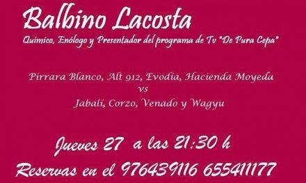 Cata de vinos maridados con carnes en El Broquel (jueves, 26)