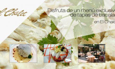 Tapas y cocina, verduras y bacalao en El Chalet (del 10 al 30 de marzo)