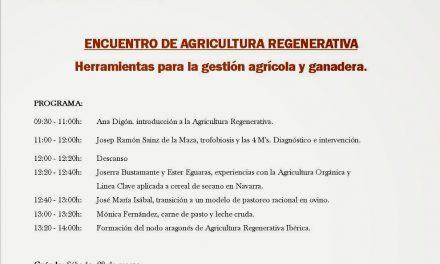 Introducción sobre la agricultura regenerativa y su gestión (sábado, 28)