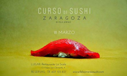 Curso de sushi (miércoles, 18)