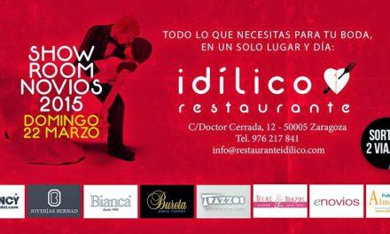 Show Room novios en el Idílico Restaurante (domingo, 22)