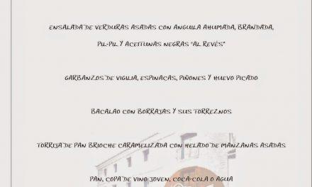 Menú Gastropasión en Molino de San Lázaro (del 25 de marzo al 5 de abril)