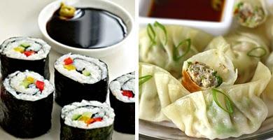 Taller de sushi y gyoza (sábado, 28)