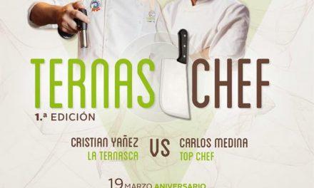 Ternaschef: Carlos TopChef vs Cristian La Ternasca (viernes, 20)