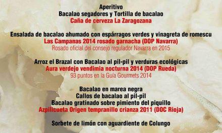 Jornadas del bacalao en El Candelas (del 17 al 26 de abril)