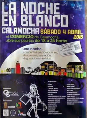 CALAMOCHA. Noche en blanco (sábado, 4)