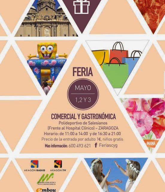 Feria comercial y gastronómica (del 1 al 3 de mayo)