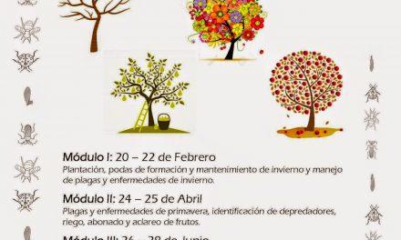 Curso de fruticultura (del 24 al 26 de abril)