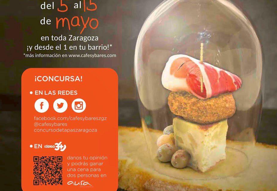 XXI Concurso de Tapas de Zaragoza y provincia (del 1 al 15 de mayo)