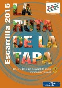 ESCARRILLA. Ruta de la tapa (del 23 al 26 de abril)