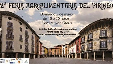 GRAUS. Feria agroalimentaria del Pirineo (domingo, 3)