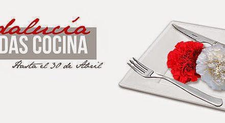 Jornadas de cocina andaluza (fines de semana de abril)